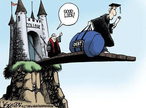 good-luck-college-graduate-debt-political-cartoon