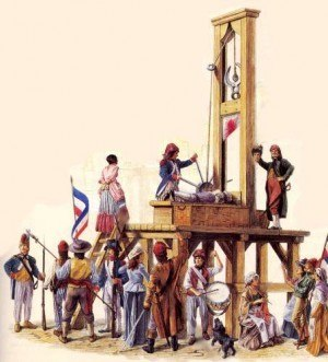 The French Revolutionaries executed anyone who wasn't in line with their quasi-socialist agenda. Don't think for a moment that SJWs or feminists wouldn't do the same today.