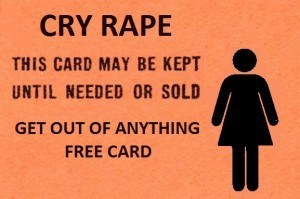 RoK - Cry Rape Get Out of Jail Free Card