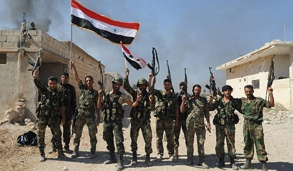 Image result for aleppo war in win syrian army