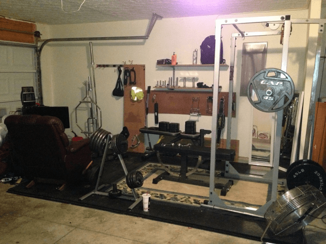 How to build your own home gym—and why you should do it