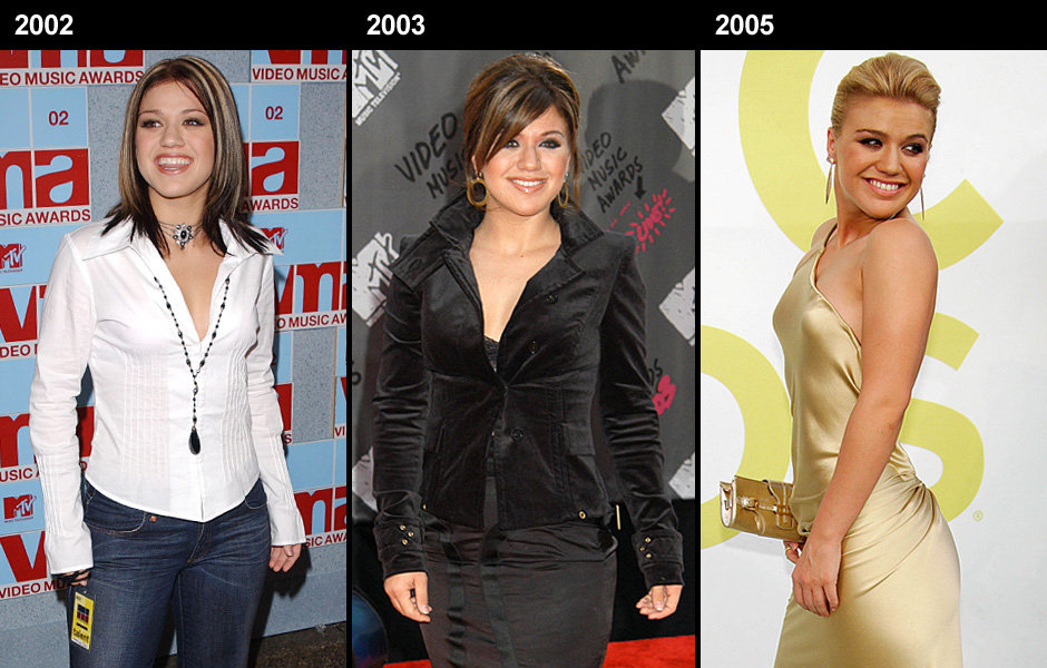 Kelly Clarkson Then And Now Fat Acceptance Is The ...