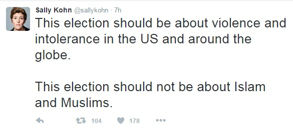 Sally Kohn - Special Pleading - Moving the Goalposts 1