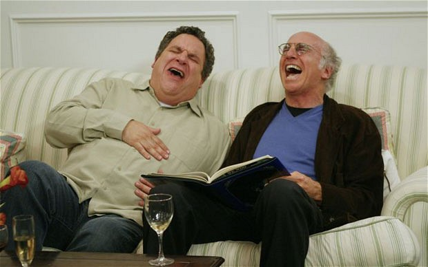 """What a freak!"" In ""Curb"", no one is spared from satire."