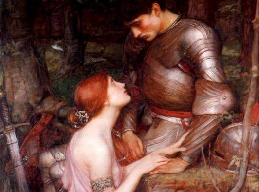 Lamia painted by John William Waterhouse (Born 1849 - Died 1917; English artist) in 1905