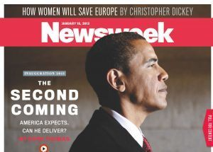 Newsweek and other leftist media have openly worshiped Obama from day one