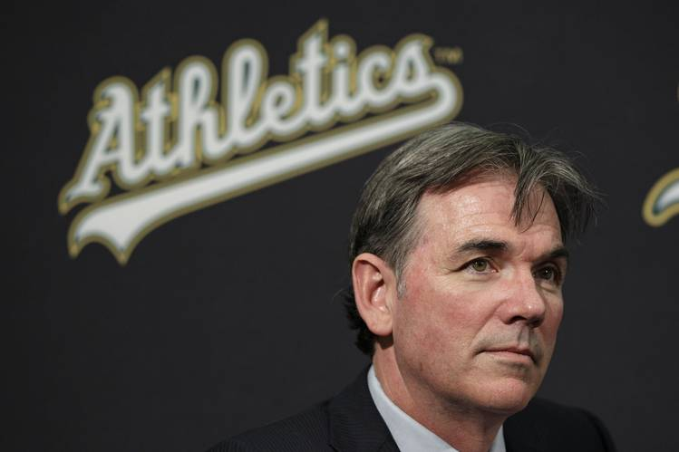 The real Billy Beane, executive vice president of the Oakland Athletics.