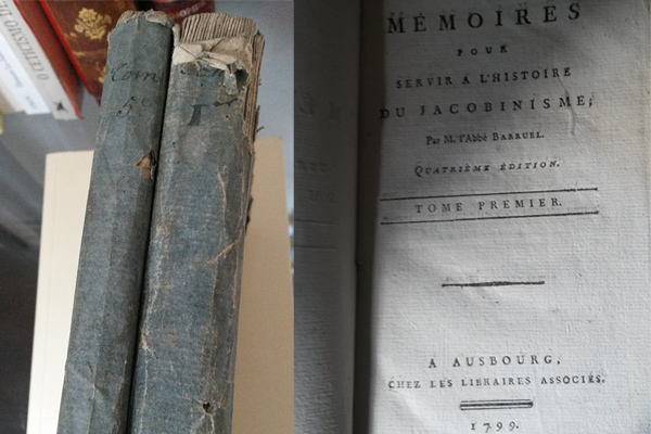 Bum bibliophilia: when your precious eighteenth century books look like an old, worn newspaper... to the uninitiated.