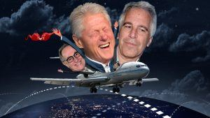 "Clinton and Dershowitz took many flights on the ""Lolita Express"" to Epstein's private island"