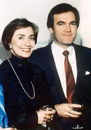 Hillary with Foster, who some say was her lover before she had him executed