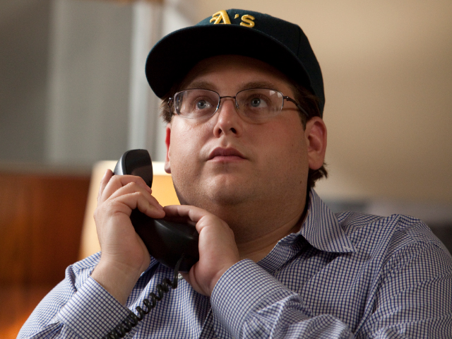"Peter Brand (Jonah Hill): Billy Beane's assistant and brain trust, who advises: ""your goal should be to buy wins""."