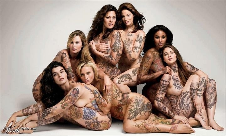 tattoo women