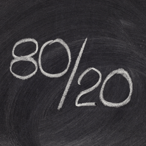 The Pareto Principle appears in many areas of life, including the mating game
