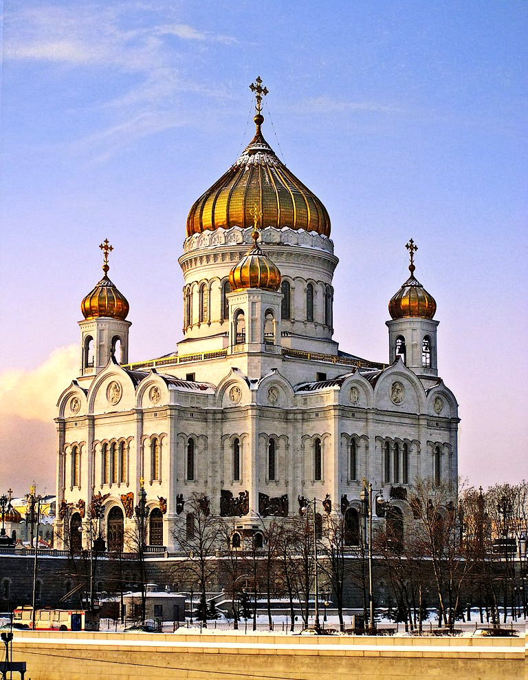 Moscow-Cathedral - Russian orthodox Church - Imperial Russia - Peter Crawford