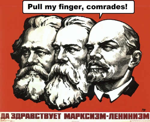 pull my finger comrades