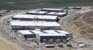 "The Utah Data Center is designed to store exabytes of information and ""is alleged to be able to process ""all forms of communication, including the complete contents of private emails, cell phone calls, and Internet searches, as well as all types of personal data trails—parking receipts, travel itineraries, and bookstore purchases"""