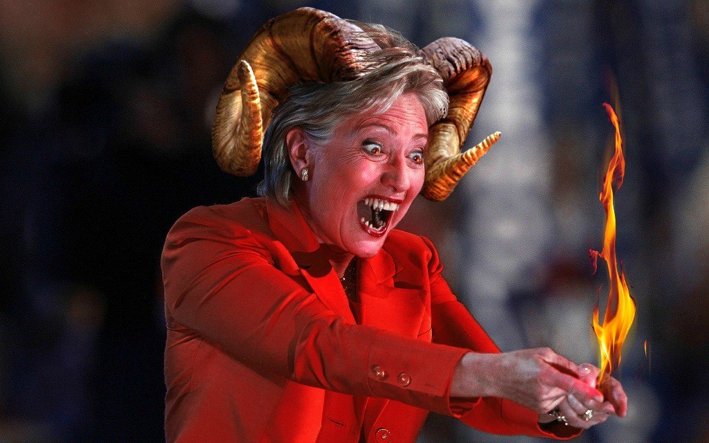 hillary devil 1111111111111 - 10 Warning Signs That Your Girlfriend Has A Personality Disorder