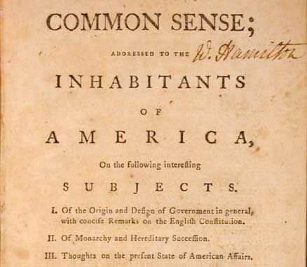 a critical analysis of thomas paines book common sense A summary of themes in thomas paine's common sense learn exactly what happened in this chapter, scene, or section of common sense and what it means perfect for acing essays, tests, and quizzes, as well as for writing lesson plans.