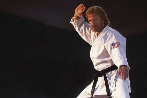 Karate top ten celebrity
