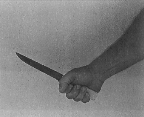 fist grip knife hit grip proper holding technique - 10 Warning Signs That Your Girlfriend Has A Personality Disorder