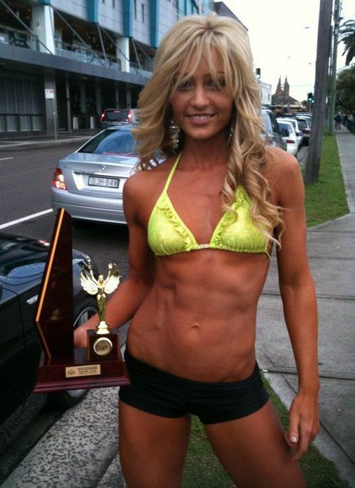 Single female fitness models