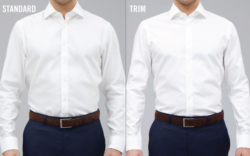 How to dress well with only a handful of interchangeable for Perfect white dress shirt