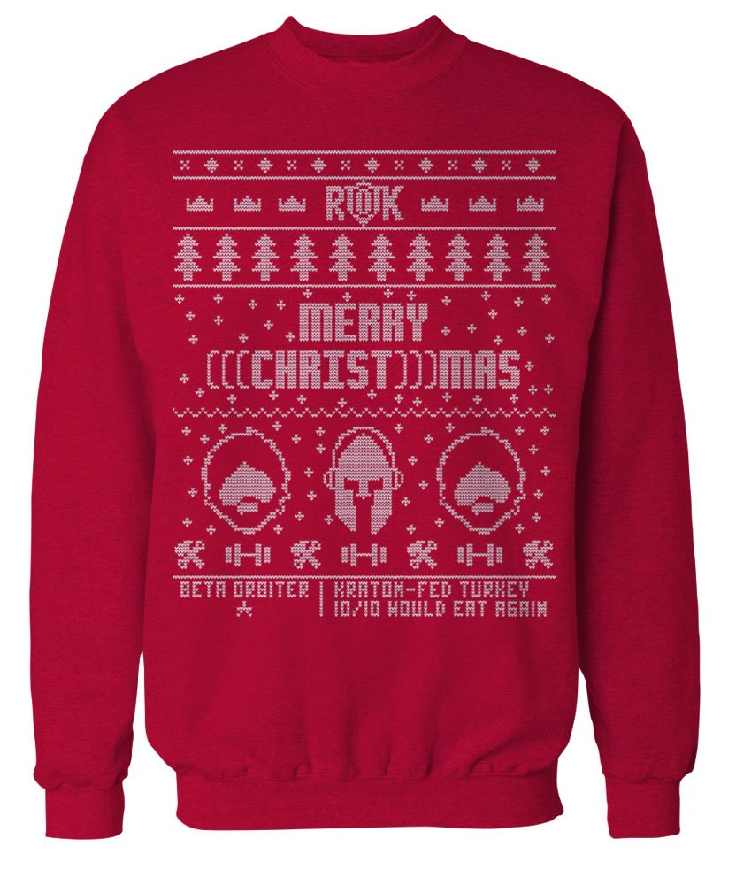 NOW AVAILABLE: Limited Edition ROK Ugly Christmas Sweater – Return ...