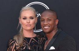 Lindsey Vonn with her current boyfriend Kenan Smith