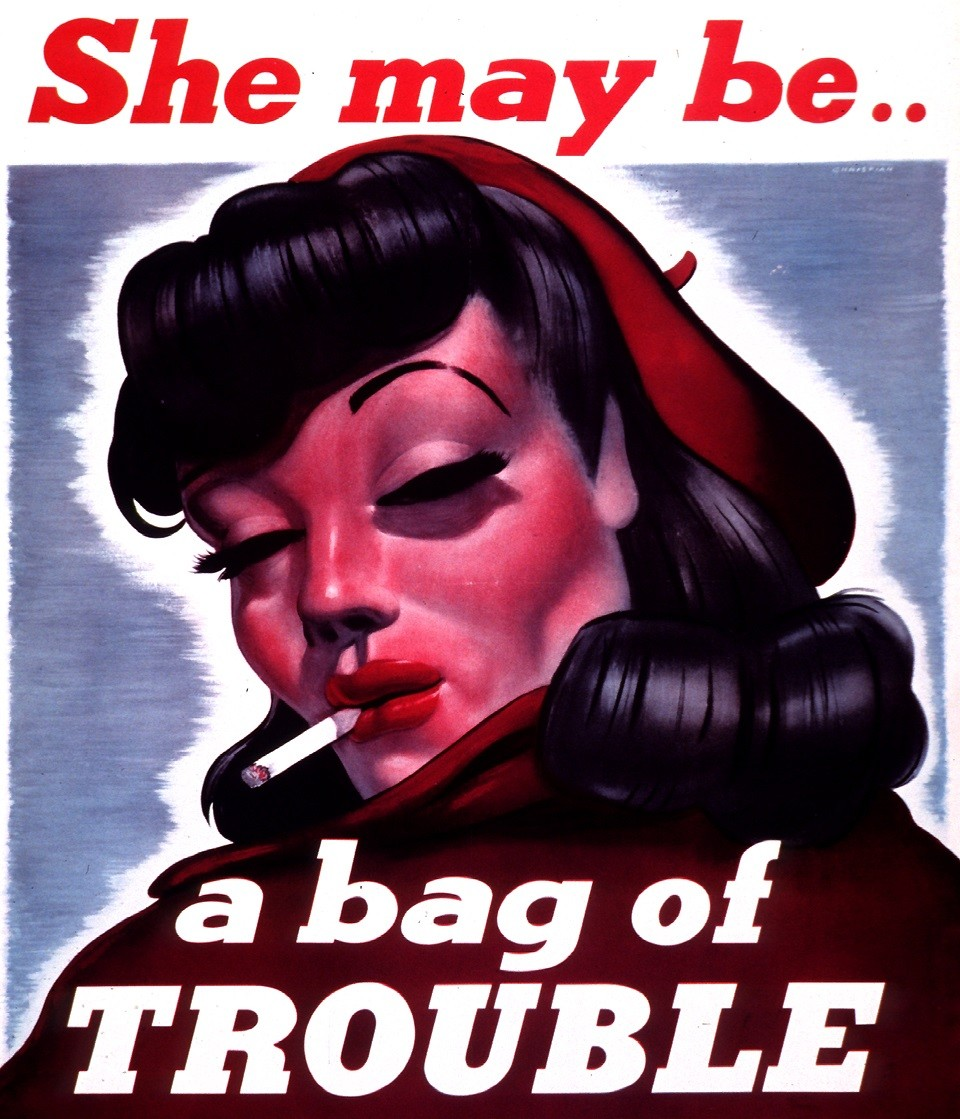 bag of trouble poster - 10 Warning Signs That Your Girlfriend Has A Personality Disorder