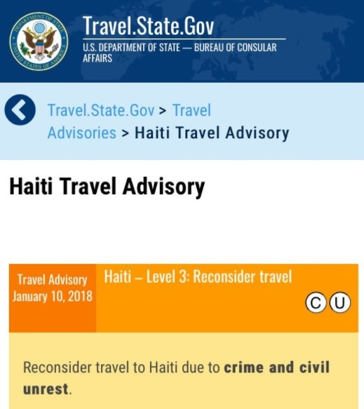 haiti state department