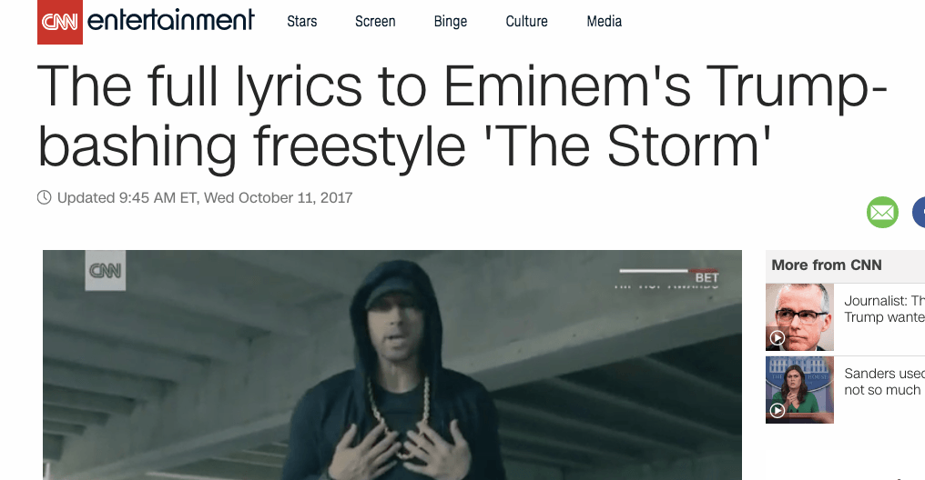 eminem the fall and rise of Eminem became very well-known in the underground rap scene from 1991-1999  however, in 1998 he landed a major contract and record.