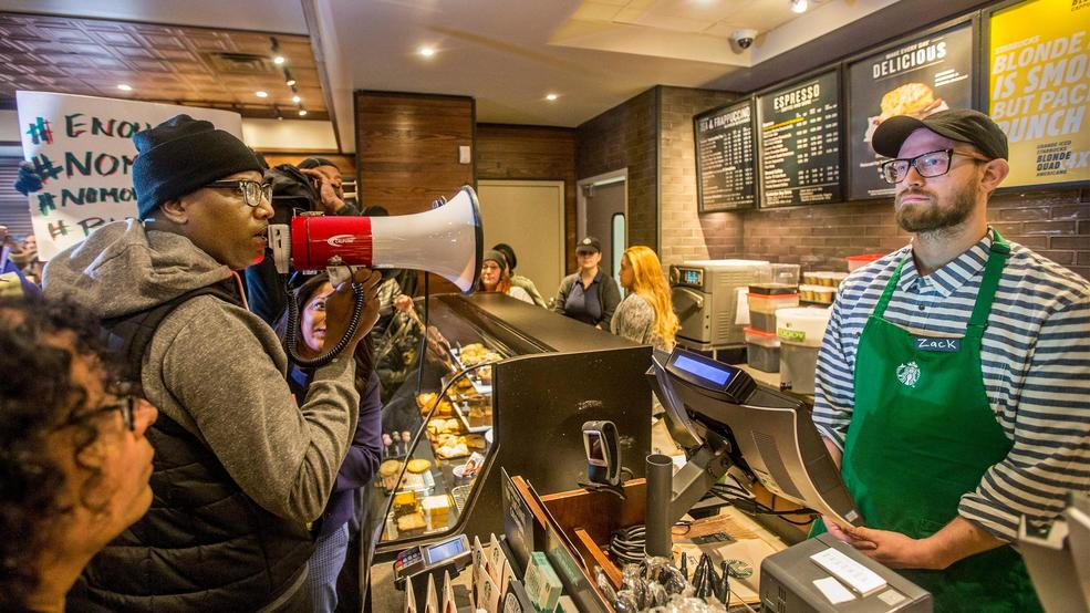 Starbucks Is Imploding Because Two Black Men Didn't Want To Leave A Store
