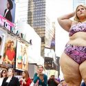 Cosmopolitan Magazine Defends Gigantic Woman's Bikini Photoshoot In Times Square
